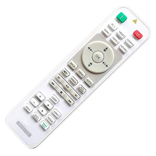 Miwaimao Remote Control For BenQ Projector W1090 W1600USTMX854UST MX863UST LX810STD LX833STD MX882UST MH733 MW855UST...