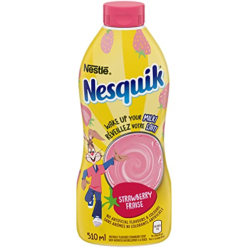 Nestle NESQUIK Strawberry Flavored Syrup Mix