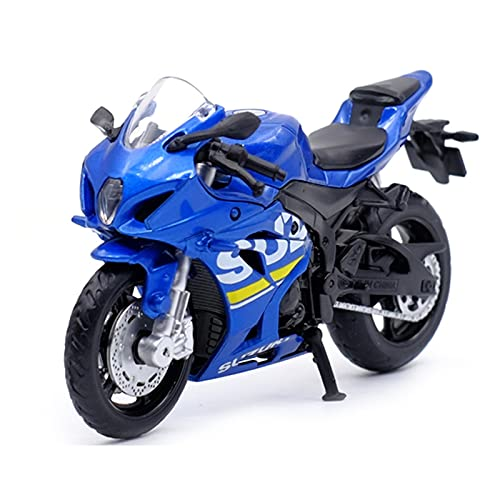 El Maquetas Coche Motocross Fantastico 1:18 para Suzuki GSX-R1000 Simulación De Aleación Fundición A Presión Modelo Motocicleta Colección Regalo Coche Juguete Regalos Juegos Mas Vendidos