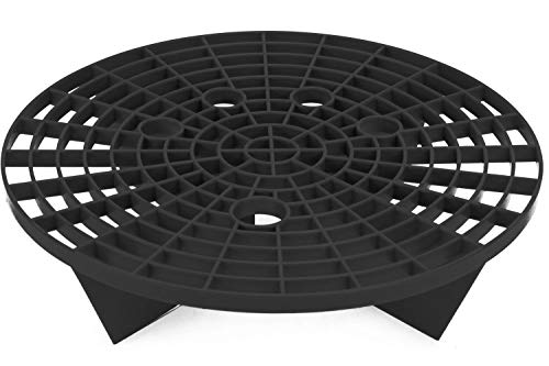 VIKING Car Wash Bucket Insert Grit Trap for Car Cleaning Wash and Detail Kits, Black
