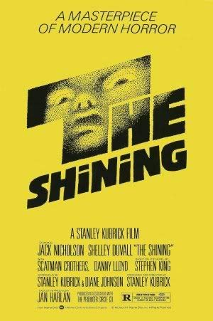 The Shining - Stanley Kubrick – Movie Wall Art Poster Print – 43cm x 61cm / 17 Inches x 24 Inches A2 Saul BASS