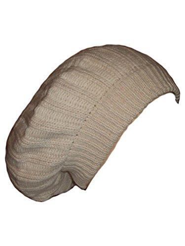 Itendance Bonnet rasta galette plusieurs couleurs disponibles (Beige)