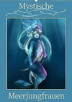 Mystische Meerjungfrauen (Wandkalender 2022 DIN A2 hoch): Meerjungfrauen in der Mythologie begeistern von Kindesbeinen an. (Monatskalender, 14 Seiten )