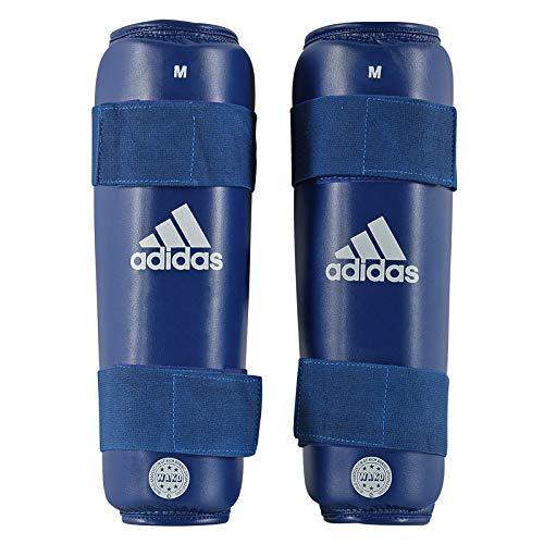 adidas Unisex– Erwachsene WAKO PU Shin Guard Schienbeinschoner, blau, M