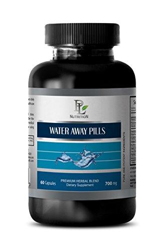 antioxidant - Water Away Pills 700MG - Natural Diuretic - Blood Pressure Equipment - 1 Bottle (60 Capsules)