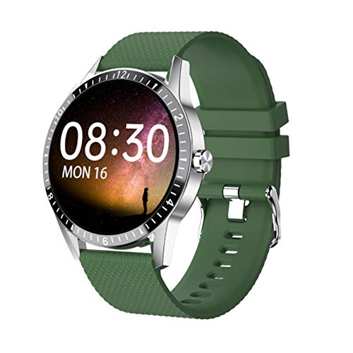 Augu Smart Sports Watch Fitness Tracker Smart Bracelet/Bluetooth Call/Remote Control Selfie/Health Monitoring/Information Synchronization Push/Custom Watch Face,B