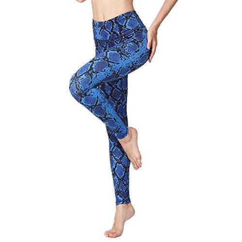 QWEASDZX Pantalones De Yoga para Mujer, Cintura Alta, Control De Abdomen, Ejercicio, Correr, Estiramiento, Leggings De Yoga, Pantalones Deportivos De Moda L