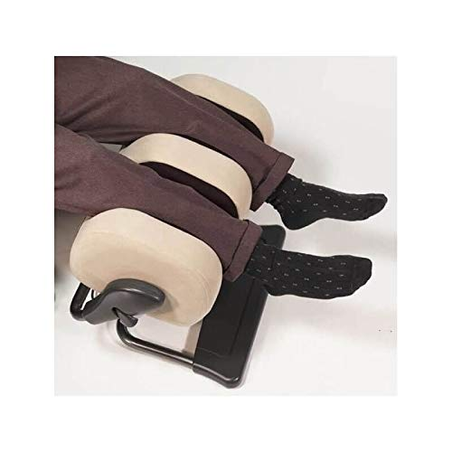 Human Touch - Reposapiés, masajeador de pantorrilla y pies otomano ✅