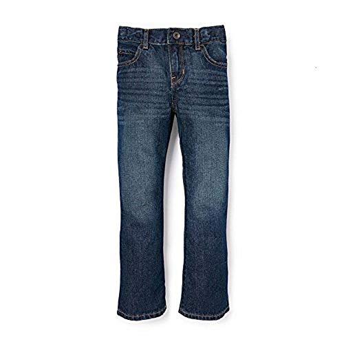 The Children's Place boys Basic Bootcut Jeans, Dk Jupiter, 8 Slim US