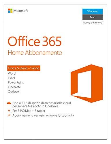 Microsoft Office 365 Personal [1 PC / 1 anno] (Versione 2016)