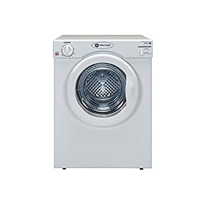 White Knight C39AW 3.5kg Compact Vented Tumble Dryer in White