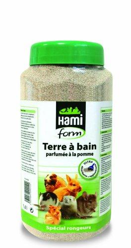 Terre à bain pour Furet, Pomme - HAMIFORM