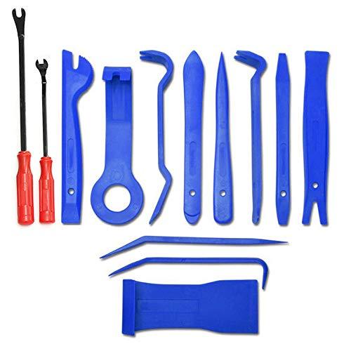 YLOVOW Tools - Kit de dépose de Garniture de Voiture et de Panneau de Porte, pièces de tiret en Plastique de sécurité,Meubles rembourrés,pièces Automobiles intérieures et extérieures