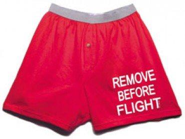Malavolti Aviation Remove Before Flight Boxers (S-XL) (Medium) Red