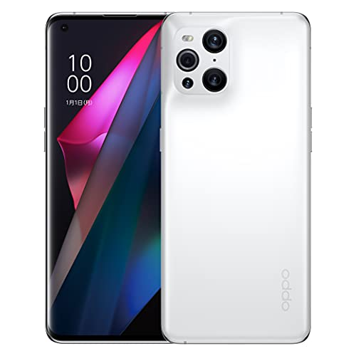 OPPO Japan Find X3 Pro【日本正規代理店品】 ホワイト SIMフリー版 5G Android simfree スマホ 本体 急速充電 大容量バッテリー 高性能カメラ スマートフォン 防水防塵 IP68