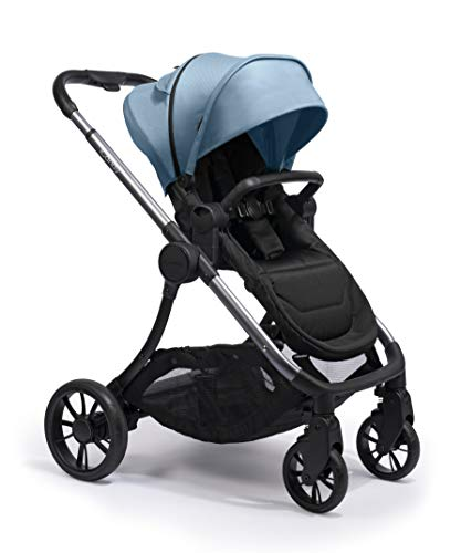 Icandy Lime Moonrock Pushchair and Carrycot Bundle, Glacier