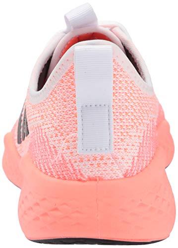 adidas Women's Fluidflow Sneaker, FTWR White/Grey Six/Signal Coral, 7 M US