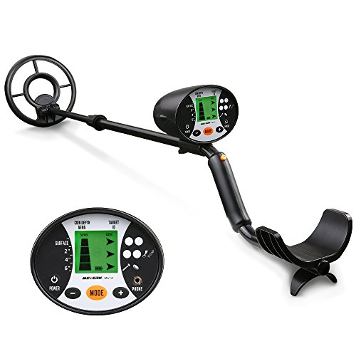 Meterk Metal Detector, High Sensitivity Handheld...