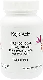 100% Natural Kojic Acid Powder, 99.9% Pure, 100g, Skin Whitener, Lightener