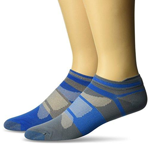 ASICS Unisex Quick Lyte Single Tab Socken (3er Pack) Race Blue Assorted, S