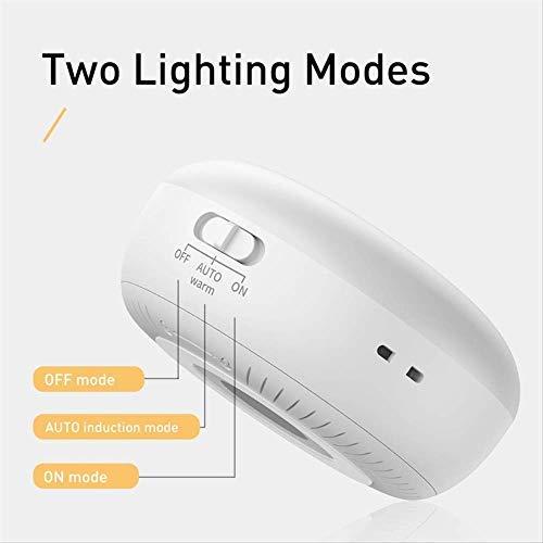 Smart LED Nachtlichter Bewegungssensor Licht LED Wandleuchte USB wiederaufladbare Baby Nachtlampe Laterne für Schlafzimmer Schrank warmweiß Emittieren