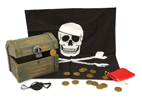 Melissa & Doug Wooden Pirate Chest Review