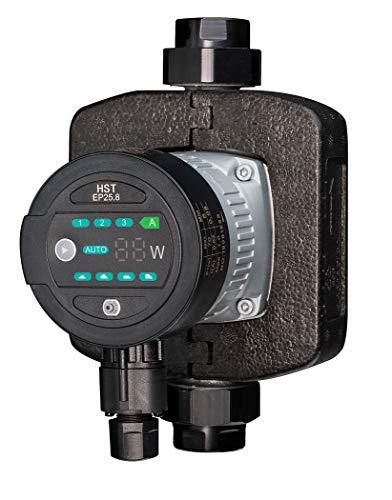 HST | Hocheffiziente Heizungspumpe | Umwälzpumpe | HST EP 25-80 / 180 mm | 8 Meter Förderhöhe