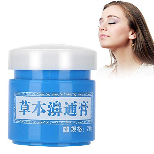 Rhinitis Cream, for Reliefing Allergic Rhinitis Nasal Psychic Relieve Nasal Congestion
