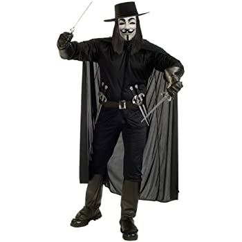Struts Fancy Dress Adulto V For Vendetta Disfraz Kit: Amazon.es ...