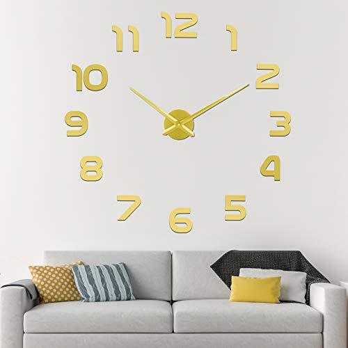 SOLEDI CL-08 Orologio da Parete Fai-da-Te, Facile da Montare, Design Moderno, Usato per Decorare La Parete Vuota, Come casa, Ufficio, Hotel
