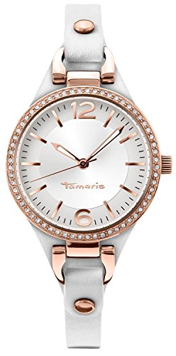Tamaris Damen-Armbanduhr Virginia Analog Quarz Leder B02215001