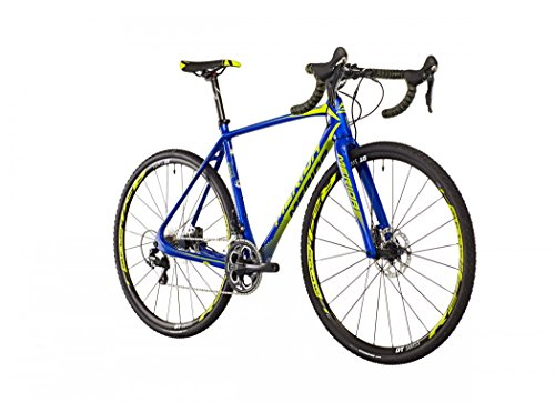 Merida Cyclo Cross 6000 blau/lime Rahmengröße 53 cm 2016 Cyclocrosser