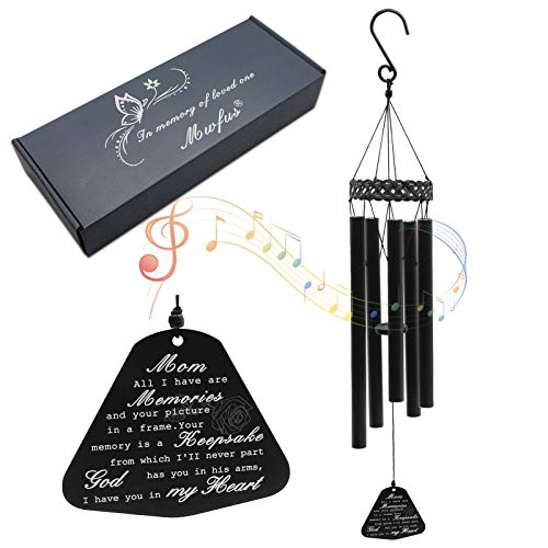 ZTL Memorial Wind Chimes for Loss of Loved One Sympathy Gifts Loss of Dad Mom Wife Husband Brother Sister Rememberance Windchimes for Garden Yard Patio Porch