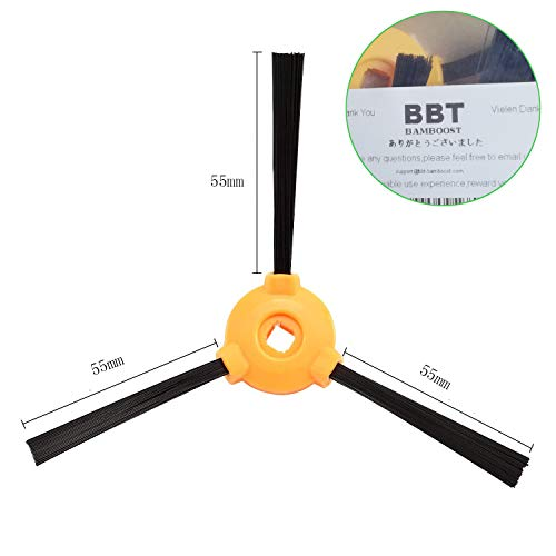 (BBT)BAMBOOST Accessories Side Brushes Compatible Shark ion Robot 750 720 700 Robotic Vacuums Replacement Parts