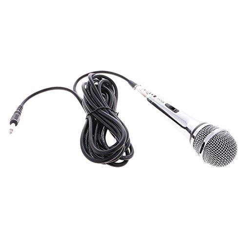 Micrófono Profesional Dinámico de Mano Handheld Bobina Móvil con Cable XRL Nuevo...