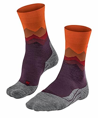 FALKE Damen TK2 Trend Crest Socken, Vendetta, 37-38
