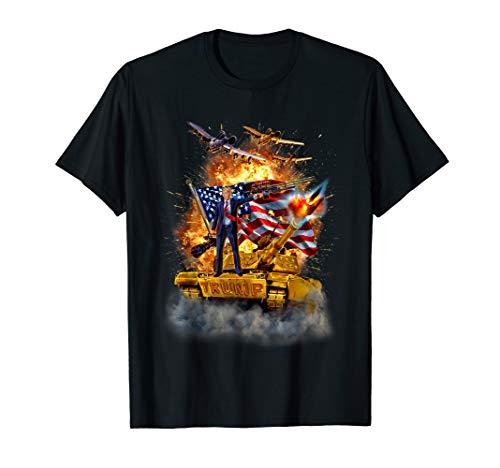 T-Shirt, USA Präsident Donald Trump Epic Schlacht