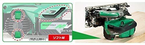 【Amazon.co.jp限定】HiKOKI(ハイコーキ)旧日立工機コードレス丸のこ36Vマルチボルト充電式刃径165mmC3606DA(XP)(K)初回修理保証付き蓄電池1個、充電器、ケース、スーパーチップソー黒鯱×1枚(本体装着)付きアグレッシブグリーン