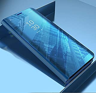 جراب من متجر SIZE - جراب هاتف بمرآة ذكية قابلة للطي لهاتف Samsung Galaxy A90 5G A10s A20s A10E A20E A70S A70 M20 A40s A50 ...