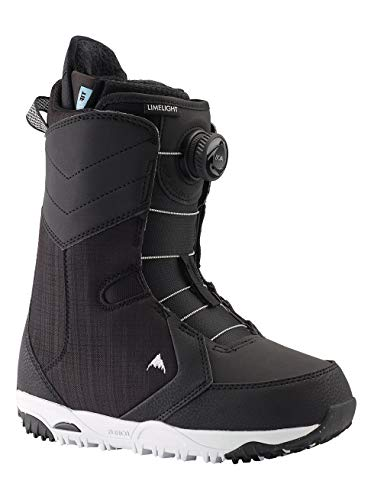 Burton Damen Limelight Boa Snowboard Boot, Black, 9.5