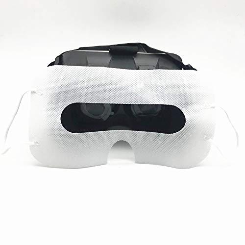 LINHUIPAD 100 máscaras de realidad virtual desechables para HTC Vive o Pro/PS VR/Gear VR/Oculus Rift/Oculus Go y otros auriculares VR (blanco)