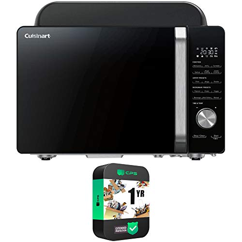 Cuisinart AMW-60 3-in-1 Microwave AirFryer Oven Bundle with 1 Year Extended Protection Plan