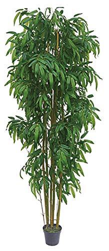 Plante Arbre Artificielle Artificiel Plastique 160cm avec Bois V/éritable Domaine Interne Decovego