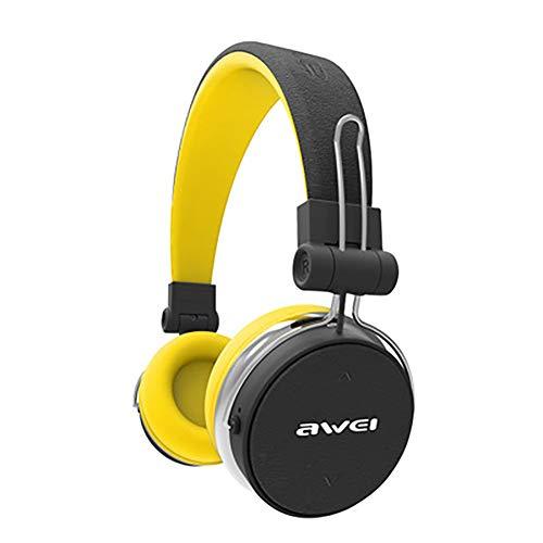 QLMY Active Noise Cancelling hoofdtelefoon draadloze oorkap headset inklapbaar zachte oorschelpen lichtgewicht stereo veilig voor mobiele telefoon laptop yoga vliegreizen