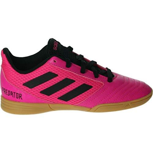 adidas Predator 19.4 in Sala J, Scarpe da Calcio Bambino, Multicolore (Rossho/Negbás/Rossho 000), 33.5 EU