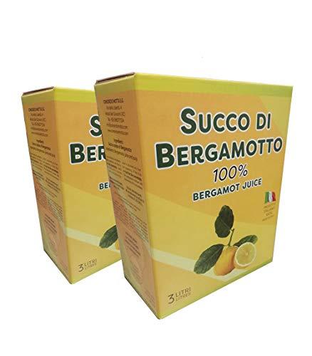 Bergamotto succo puro Bag in Box 2 confezioni da 3 Lt.