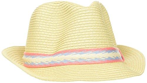 s.Oliver Damen 39.804.92.2122 Panamahut, Weiß (White 0860), 55 (Herstellergröße: 56)