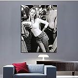 Poster Und Drucke Kate Moss Sexy Super Modell Wandkunst
