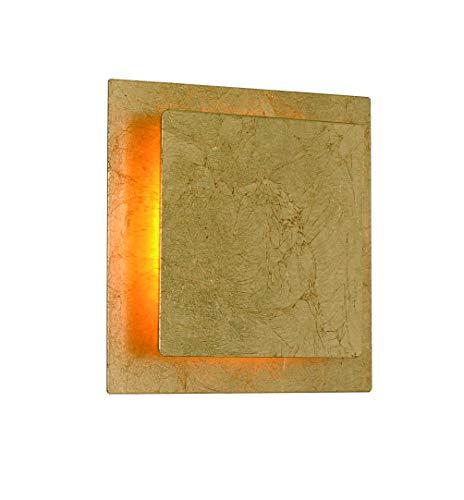 ACTION by WOFI FEY wandlamp, acryl, 6 W, goudkleurig