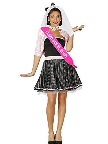 Disfraz de Novia años 50 con banda - Despedidas de Soltera